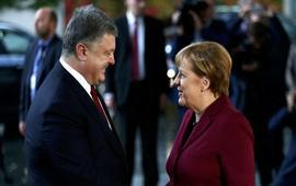 Порошенко и Меркель договорились