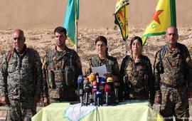 Курдские отряды начали наступление