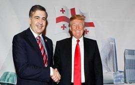 Саакашвили с Трампом