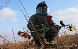 Саперы российской военной базы в Армениии