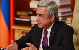 Два интервью Сержа Саргсяна