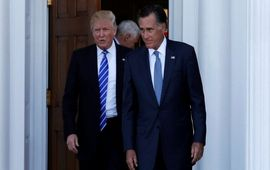 Встреча Трампа с Ромни