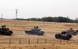 Турки осаждают Аль-Баба