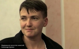 Савченко встретилась с Захарченко