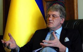 Ющенко напомнил о своем существовании