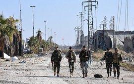 Боевики в восточном Алеппо
