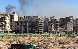 Террористы в Сирии поджигают