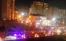 Взрыв около торгового центра в Стамбуле