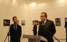 Российский посол в Анкаре убит