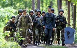 На сдерживание России в Европе