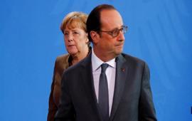 Олланд и Меркель за продление санкций