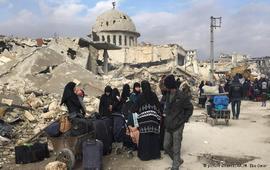 Эвакуация из Алеппо приостановлена