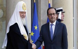 Олланд патриарху Кириллу: Надо прекратить «бойню