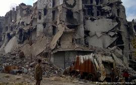 Бои в Алеппо возобновились