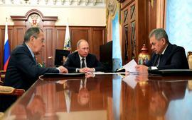 Путин объявил о начале мирных переговоров