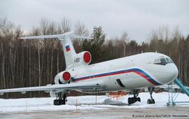 Все полеты Ту-154 приостановленны МО РФ
