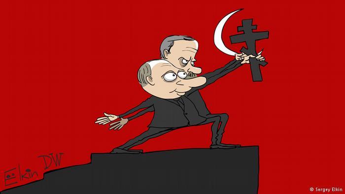 Путин и Эрдоган: союз креста и полумесяца