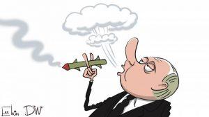 Лучше бы Путин раскуривал трубку мира