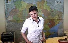 Савченко учит Киев говорить