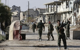 Сирийские войска проводят