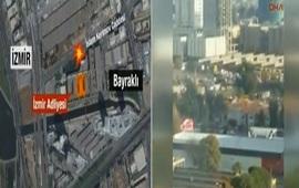 Взрывы у здания суда в Измире