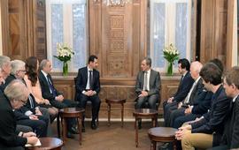 Французские депутаты в Алеппо
