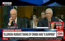 На захват Крыма надо было дать адекватный ответ