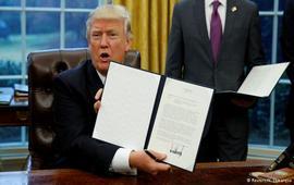 США вышли из Транстихоокеанского партнерства