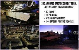 США перебросили в Германию партию танков