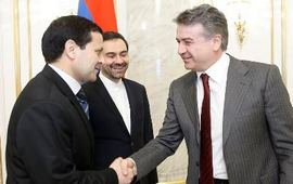 Трехсторонняя встреча Армения Иран Туркеминстан