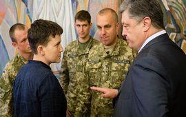 Савченко хочет заменить собой Кучму