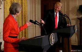 Трамп после встречи с Терезой Мэй