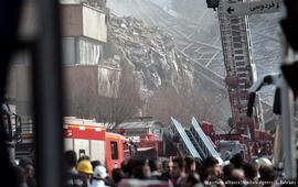 Обрушилась одна из самых старых высоток Тегерана