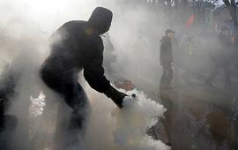 В Киеве столкновения с полицией