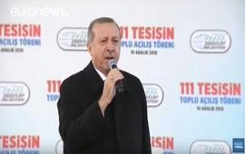 Стартовала агитационная кампания Эрдогана