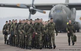 В Литву прибыли немецкие военные