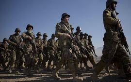 Афганскими войсками развернуто