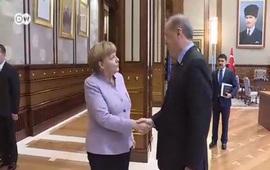 Меркель в Турции у Эрдогана