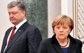 Меркель ждет сигналов от Порошенко