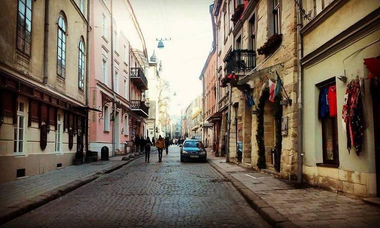Армянская улица - современный вид