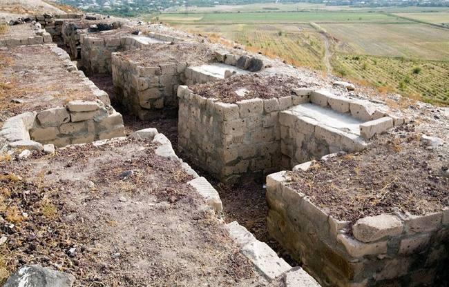 Приблизительная граница сельскохозяйственных угодий Аргиштихинили.