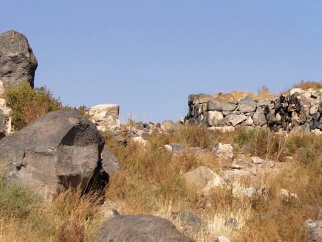 Граница древнего Армавира, построенного на развалинах