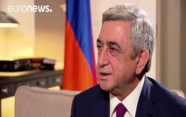 Euronews: Серж Саргсян о выборе Армении