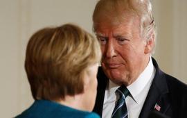 Непростая встреча Трампа с Меркель