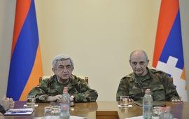 Степанакерт - цитата президента Армении