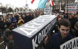 """Марши протеста против """"тунеядцев"""""""