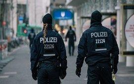 Франкфурт: курды протестуют