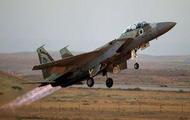ВВС Израиля обстреляны