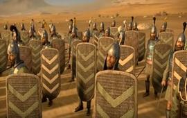 Модель сражения древней Армении и Парфии