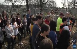 Разгромлено еврейское кладбище в США